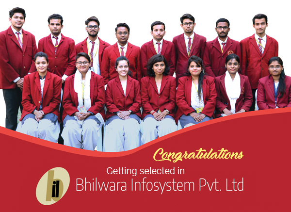 Campus Drive by Bhilwara Infosystem for 2019 Batch